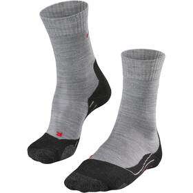 Falke TK2 Trekking Socks Women light grey